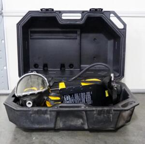Scott Air-Pak, Includes Air Tank, Mask, And Pressure Pak II, In Plastic Carry Case