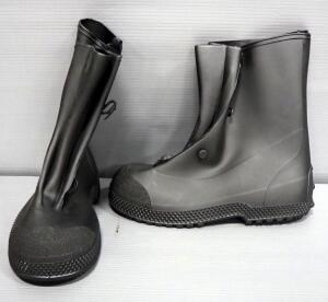 Pair Of Rubber Chemical Boots, Size L