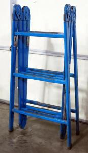 "Versaladder Metal Folding Step/Straight Ladder, 72"" Or 149"" High"