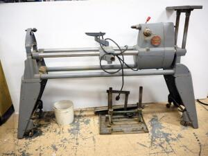 Shop Smith Mark 5 Lathe SN# 316150, With Guides And More, Powers On