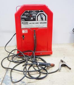 Lincoln Electric AC/DC Arc Welder, Model AC/Dc 225/125, With Grounding Cables