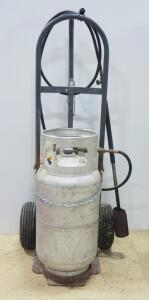 Flame Engineering Inc. Propane Fueled Weed Burner On Dolly, With Flint Torch Lighter