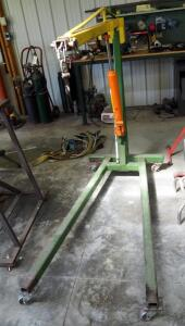 Central Hydraulics Hydraulic Long Ram Jack Model 36396, 3 Ton Capacity