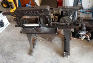 "Vintage Keller Power Hack Saw, 36"" x 40"" x 18.5"""