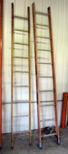 10 Foot Fiberglass Ladders, Qty 2