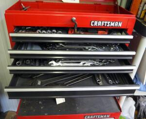 Open And Closed Ended Standard Wrenches, Crescent Wrenches, And Allen Wrenches, Assorted Brands, Contents Of 4 Drawers