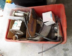 Miscellaneous Auto Parts, Contents Of Tub