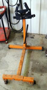Pittsburgh Rolling Adjustable Engine Stand