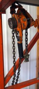 Ingersoll Rand 1-Ton Chain Hoist Model L5H200