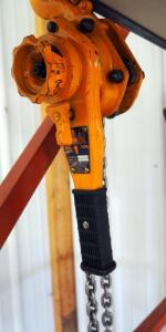 Harrington 1-Ton Chain Hoist Model LB010