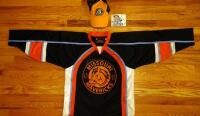 Missouri Mavericks Jersey, Size YL, Hat And Sticker, Size S M - 2