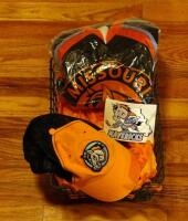 Missouri Mavericks Jersey, Size YL, Hat And Sticker, Size S M - 3