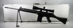Century Arms Inc Model R1A1 Sporter .308 Cal Rifle SN# NC000670, With Bushnell 6500 Elite Rifle 4.5-30x50 Mod 65-4305T Scope, And Bipod, In Hard Case