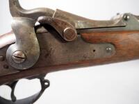 US Springfield US Model 1878 .45-70 Cal Rifle SN# 228576, Rampant Eagle Stamp In Receiver - 15