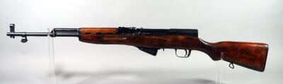 Russian SKS 7.62x39 Rifle SN# 0P2186, Marked 1950, SN# Also Engraved On Stock