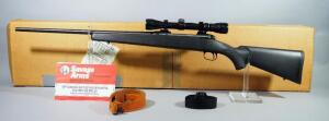 Savage Model 110 .270 WIN Bolt Action Rifle SN# F678774, With Paperwork, Leather And Nylon Slings, In Original Box