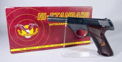 Hi-Standard Model 102 Sport King .22 LR Pistol SN# 1032627, With Paperwork, In Original Box