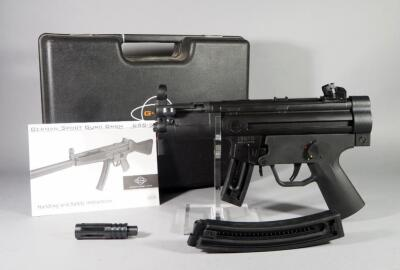 German Sports Guns GSG-5PK .22 LR HV Pistol SN# A290401, Made In Germany, 2 Total Mags, In Original Hard Case