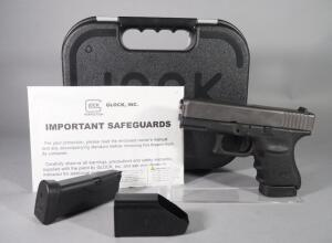 Glock Model 30 SF .45 Auto Pistol SN# BFFY381, With 2 Total Mags, Paperwork And Mag Loader, In Hard Case