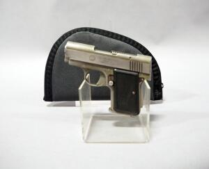 Irwin Dale Arms, Back Up .380 9mm Kurz Pistol, SN# M03809, In Soft Case