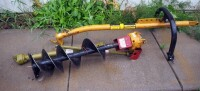 "Post-Hole Digger With 12"" Diameter Auger, Hydraulic Mounted"