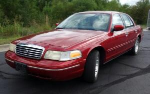 1999 Ford Crown Victoria LX Passenger Car, 4.6L, 125,714 Miles, VIN # 2FAFP74W8XX14827, SEE VIDEO