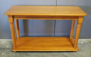 "Entry/Hall Table With Lower Shelf, 30"" High x 48"" Wide x 18"" Deep"