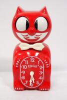 Kit -Kat Klock Wall Clocks, Qty 2, Blue (In Box) And Red, With Instructions - 2