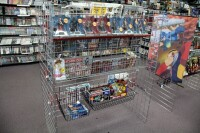 GameCo Video Game Store Contents Selling To One Buyer, Approximately 13,000 Games, Consoles, Accessories, Parts, Action Figures, Apparel, Comics, Posters, Security Cameras, Shelving, Equipment, And More, See Description For More Details - 50