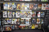 GameCo Video Game Store Contents Selling To One Buyer, Approximately 13,000 Games, Consoles, Accessories, Parts, Action Figures, Apparel, Comics, Posters, Security Cameras, Shelving, Equipment, And More, See Description For More Details - 55