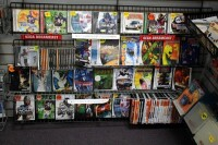 GameCo Video Game Store Contents Selling To One Buyer, Approximately 13,000 Games, Consoles, Accessories, Parts, Action Figures, Apparel, Comics, Posters, Security Cameras, Shelving, Equipment, And More, See Description For More Details - 60