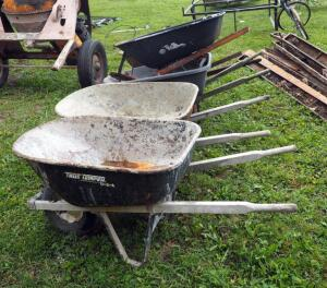 Wheelbarrow Assortment, Qty 5, Most Needing Repair
