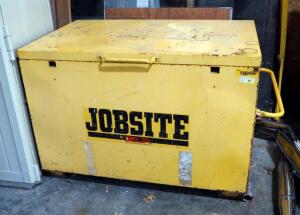 Delta Consolidated Industries Job Site Tool Chest, 25 Cubic Ft, Model 656940R2
