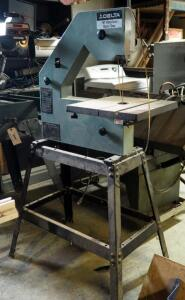 "Delta 16"" Electric Band Saw Model 28-560 On Metal Stand 68"" x 32"" X 23, Unknown Working Order"