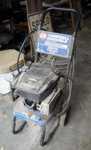 Campbell Hausfeld Gas Powered Pressure Washer Model PW22000, 2200psi With 6hp Briggs & Stratton Motor, No Spray Wand