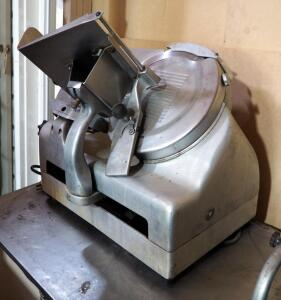 "Berkel Commercial Meat Slicer With 11"" Blade, Unknown Working Order"
