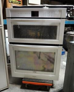 "New Whirlpool Electric Oven With Built-in Microwave, Model W0C4EC0AW, 41"" X 30"" x 25"""