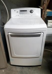 New LG High Efficiency Electric Dryer, Model 509KWWZ6A609