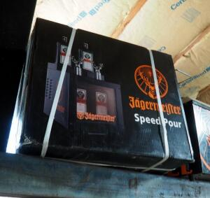 Jagermeister Speed Pour Tap Shot Machine Dispenser Chiller, New In Box