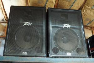 "Peavey International HC 118 3 Way Speakers, Qty 2, Max Power 700 Watt, 36"" x 26"" x 20"""