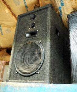 "Vintage 4 Way Speaker Cabinets, Qty 2, 36"" x 21"" x 16"""