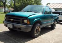 1994 Chevrolet S10 Pickup Truck, Mileage Showing On Odemeter 84,432.5, VIN # 1GCCT14Z1R8147994 - 2