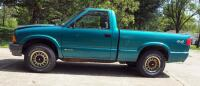 1994 Chevrolet S10 Pickup Truck, Mileage Showing On Odemeter 84,432.5, VIN # 1GCCT14Z1R8147994 - 3