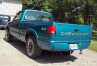 1994 Chevrolet S10 Pickup Truck, Mileage Showing On Odemeter 84,432.5, VIN # 1GCCT14Z1R8147994 - 4
