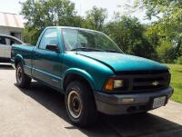 1994 Chevrolet S10 Pickup Truck, Mileage Showing On Odemeter 84,432.5, VIN # 1GCCT14Z1R8147994 - 8