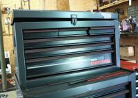 "Craftsman 9 Drawer Rolling Toolbox With Side Cabinet, 45.5"" x 36"" x 18"", Contents Not Included, 2ND DAY LOADOUT ONLY"