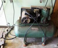 Sears Electric Air Compressor, Model 106.170911, Includes Pneumatic Hose, Powers On