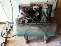 Sears Electric Air Compressor, Model 106.170911, Includes Pneumatic Hose, Powers On - 2