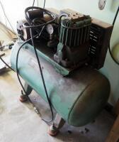 Sears Electric Air Compressor, Model 106.170911, Includes Pneumatic Hose, Powers On - 5