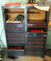 "Craftsman 13 Drawer Tool Cabinet, Contents Not Included, 58"" x 44"" x 18"", SECOND DAY LOADOUT ONLY"
